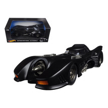 Batman Returns Batmobile 1/18 Diecast Model Car by Hotwheels CMC96 - $156.65