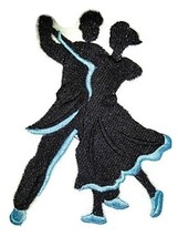 Let's Dance Custom And Unique Embroidered [Swing Silhouette Left Posture... - $7.91