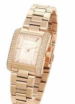 Michael Kors Rose-gold tone MK3572 Emery Mini Watch - £68.59 GBP