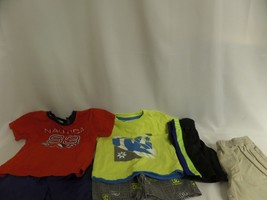 Infant Boys Lot Of 12 M Dc Short Outfit,Nautica, Puma Okie Dokie Short Sleeve - $16.70