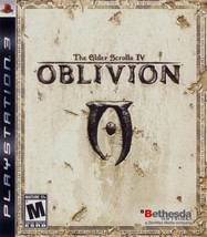 "THE ELDER SCROLLS IV OBLİVİON (PS3) Playstation 3 ""PAL"" - $6.00"