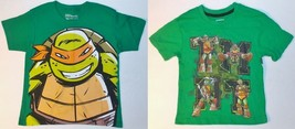 Teenage Mutant Ninja Turtles Boys T-Shirts 2 Choices Size Sm 4 NWT - $13.99