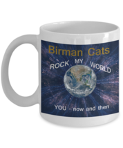 Cat Lover Birman Cat Coffee Mug White 11 0Z - $14.92