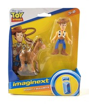 Imaginext Toy Story 4 Woody and Bullseye Adventure Pack Fisher Price Age... - $12.85