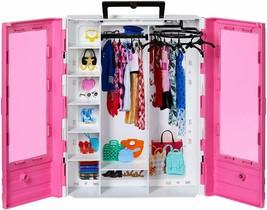 Barbie Fashionistas Ultimate Closet Portable Fashion Toy for 3 to 8 Yea... - $21.32
