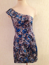 New Kensie Washable Sexy 1 Shoulder Lined Cocktail Dress Misses Size 6 NWT  - $14.58