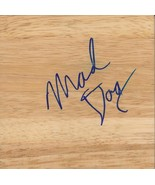 Mark Madsen Signed 6x6 Floorboard Stanford Lakers Mad Dog Inscription - $22.25