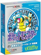 3DS Pokemon Blue Download Card Special Edition Magnet + Sticker + Town Map Japan - $56.10