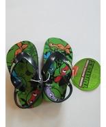 Teenage Mutant Ninja Turtles Toddler Boy's Flip Flop  5/6 9/10 NWT - $9.99