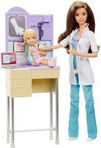 Barbie - Muñeca, Quiero ser pediatra (Mattel DKJ12.Barbie están listas para exam - $189.00