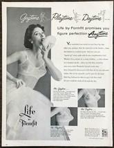 1955 Formfit Life Bras PRINT AD Gaytime Playtime Daytime Anytime - $11.89