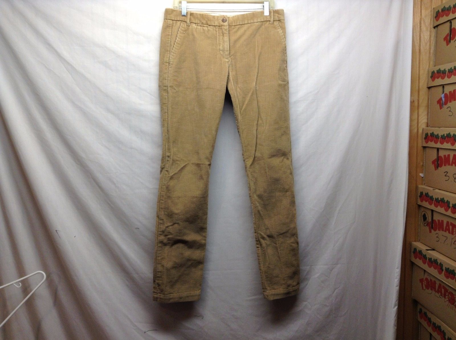Thick Corduroy Khakis by GAP Sz 8