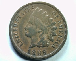 1889 S26 18/18(s) 9/9(s) Indian Cent Penny Extra Fine+ Xf+ Extremely Fine+ Ef+ - $39.00