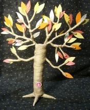 Vintage inspired Halloween Fall Tree Man spun cotton image 2
