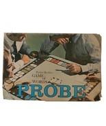 "Vintage PROBE ""Game Of Words"" Board Game 1964 Parker Bros. USA - $16.83"
