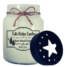 Butter Almond Cookies Scented Jar Candle, 26-Ounce, Star Lid - $16.00