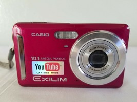 Casio EXILIM ZOOM EX-Z29 10.1MP Digital Camera - Purple *GOOD* - $24.74