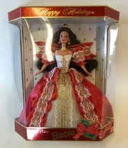 Barbie Happy Holidays Special Edition 10th Anniversary 1997 Mattel Stand... - $29.65