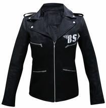 Womens BSA Faith George Michael Rockers Revenge Black Leather Jacket image 4