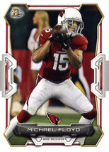 2015 Bowman #3 Michael Floyd NM-MT Cardinals - $0.75