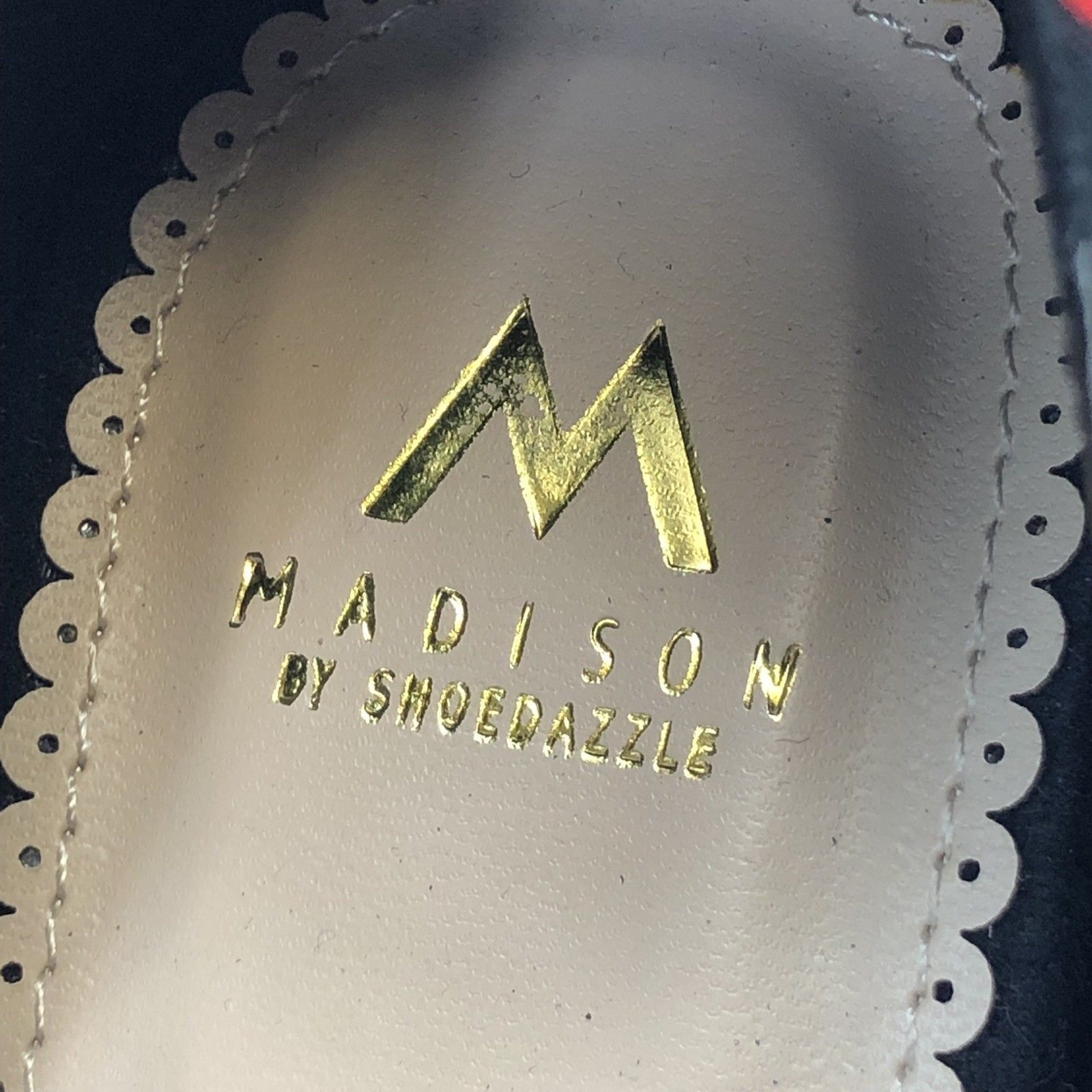 0e30a627c3c5 Madison by Shoe Dazzle Valerie Heels Woman s Size 8 Stiletto Shoes Polka  Dots