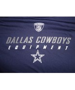 Blue Reebok Dallas Cowboys NFL Football Speedwick Mens S Tshirt  Trainin... - $17.92