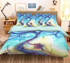 3D Anime Tree 26 Bed Pillowcases Quilt Duvet Single Queen King US Lemon - $102.84+