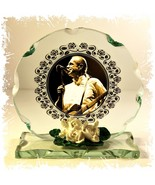Francis Rossi Sepia Photo 'Status Quo' Cut Glass Round Plaque Limited Ed... - $34.64
