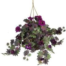 Morning Glory Hanging Basket Silk Plant - $59.13