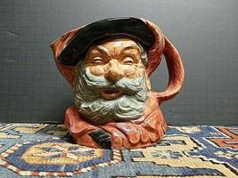 Vintage Royal Doulton 11949 Falstaff D6287 Character/Toby Mug 6 1/2 EXCE... - $37.53