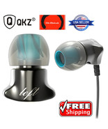QKZ DM7 Zinc Alloy Hifi Super Bass In Ear Earphones with Microphone  - $15.99