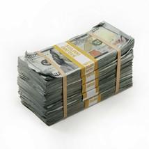 PROP MOVIE MONEY - $50,000 - Prop Money BLANK FILLER Aged Fake Play Stacks - $34.99