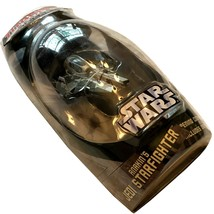 Star Wars Titanium Anakin's Jedi Starfighter die cast vehicle 2006 green - $18.98