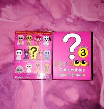 TY Mini Boos Series 3 Collectible Hand Painted Figurines Set of 2 Blind Boxes - $10.40