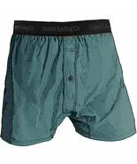 1 Mens Duluth Trading Co Buck Naked Performance Boxers 67019 Tucson Teal - $27.19
