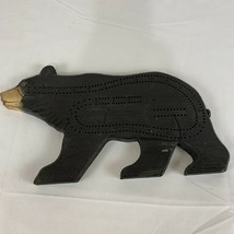Wooden Black Bear Cribbage Board New - $19.10