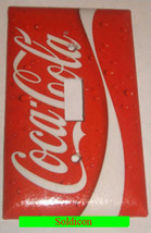 Coke Coca Cola Logo Light Switch Power Outlet wall Cover Plate Home decor