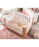 Sweet Deer Crib Bedding Set for Baby Girls Bed Set Forest Pink   4 Piece... - $94.00