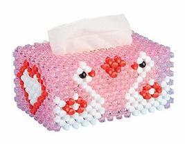 PANDA SUPERSTORE DIY Handmade Tissue Holder Cover Home Decoration, Love Swan