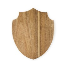 Cheese Boards, Small Acacia Wood Shield Serving Cutting Cheeseboard Gift - ₨1,556.19 INR