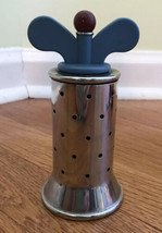 Alessi Michael Graves Blue Pepper Mill stainless steel pre-owned  - £71.22 GBP