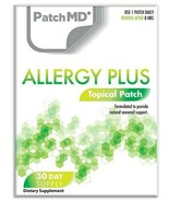 New Formula! PatchMD Allergy Plus Topical Vitamin Patch 30 Day Supply Patch - $14.99