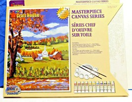 Autumn Hills Masterpiece Canvas Series Paint By Number by Craft House - ... - $28.05