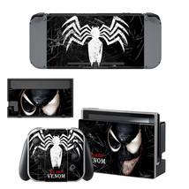 NINTENDO SWITCH - Venom - Vinyl Skin + 2 Controller Skins [0063] - $12.85