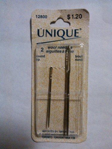 Unique 2 Wool Needles -12800