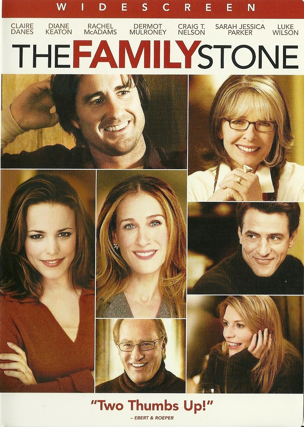 Primary image for The Family Stone DVD Claire Danes Diane Keaton Rachel McAdams Dermot Mulroney