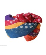 Traditional Handmade Halloween Gift Rajasthani Men Hat Turban Pagri Safa... - $74.99