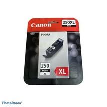 Canon Pixma 250XL Black Ink Cartridge OEM 250XL PGBK Brand New Genuine  - $20.77