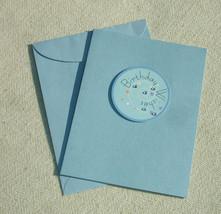 Handmade Birthday Wishes Greeting Card - $6.10