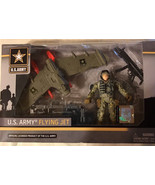 U.S. Army Flying Jet Action Figure Soldier United States Army NEW IN BOX - $10.76